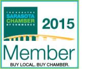 Member of Sarasota Chamber of Commerce.