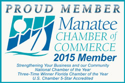 Member of Manatee Chamber of Commerce